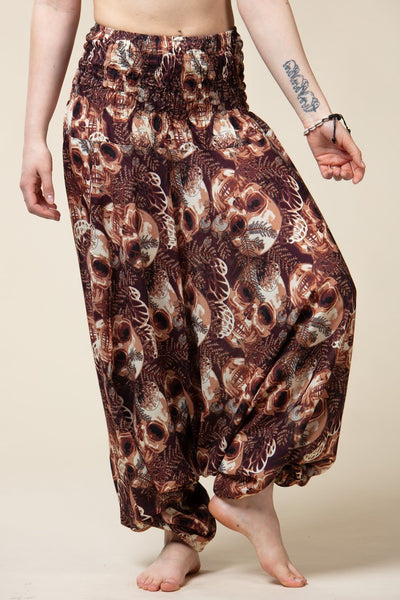 Brown Skulls Artisan Jumpsuit Haaremihousut