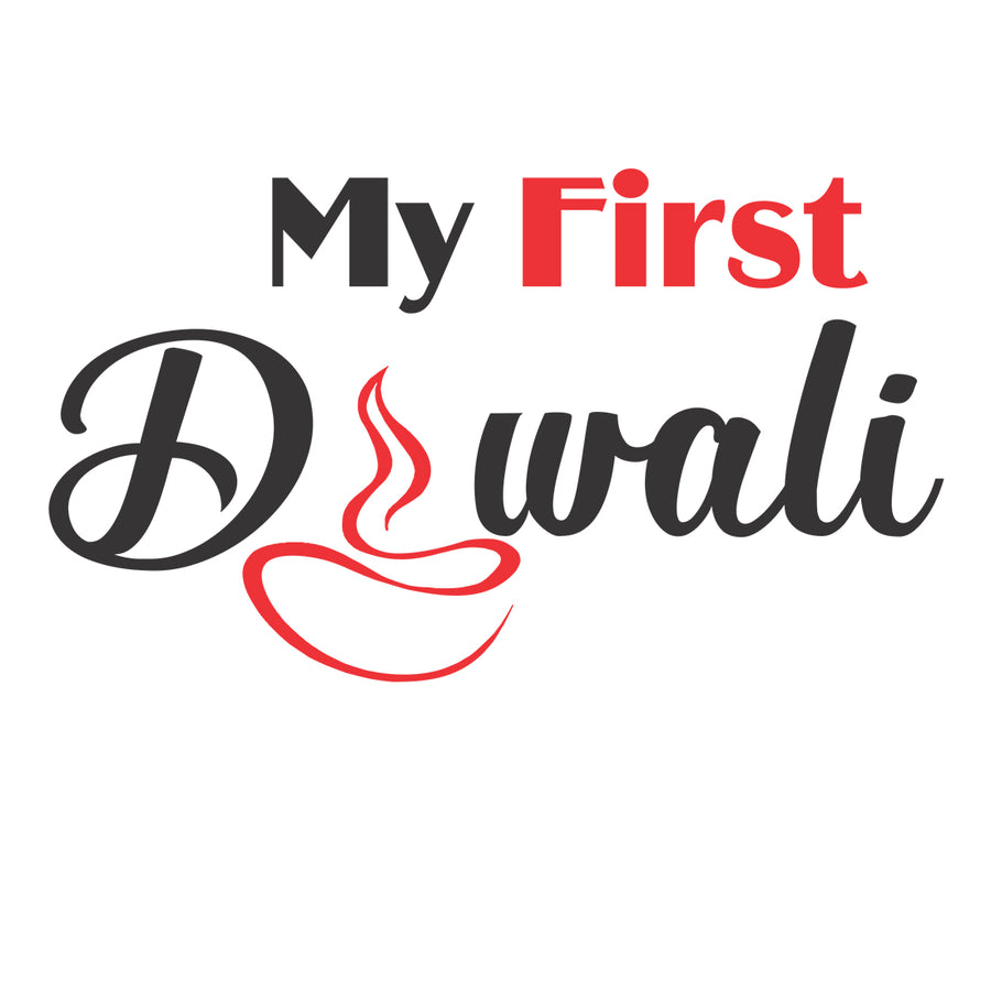 My First Diwali Tshirt For Kids