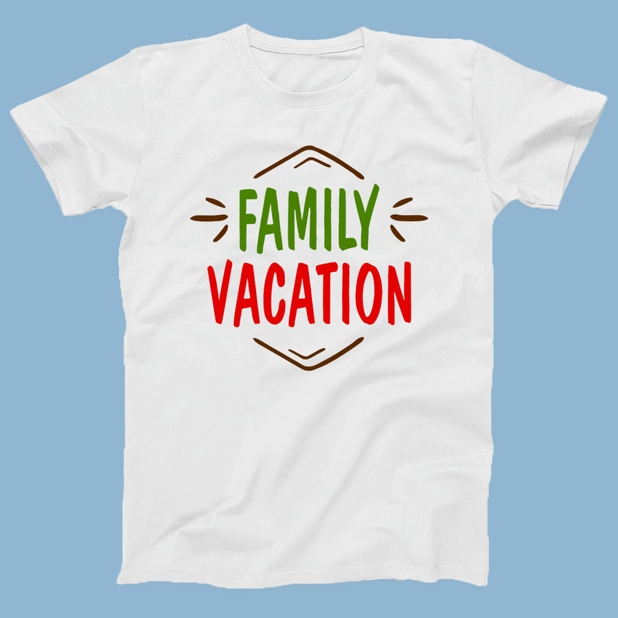 Family Vacation Travel T-Shirts for 4
