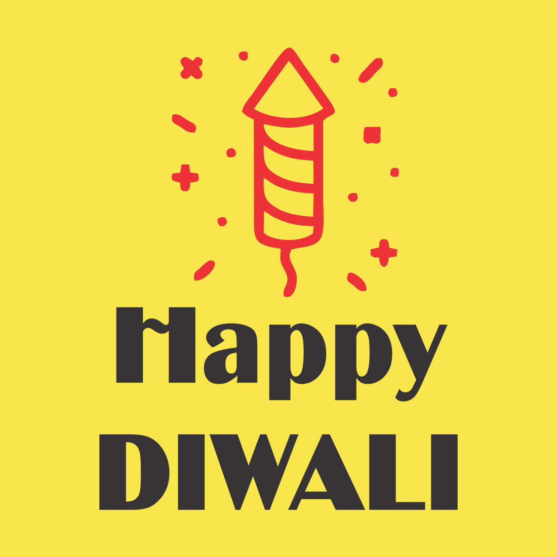 Happy Diwali TShirt- Celebrate With More Style