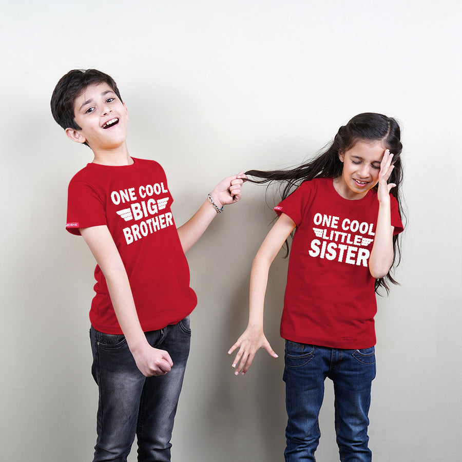 Cool Big Brother Sister TShirts Combo