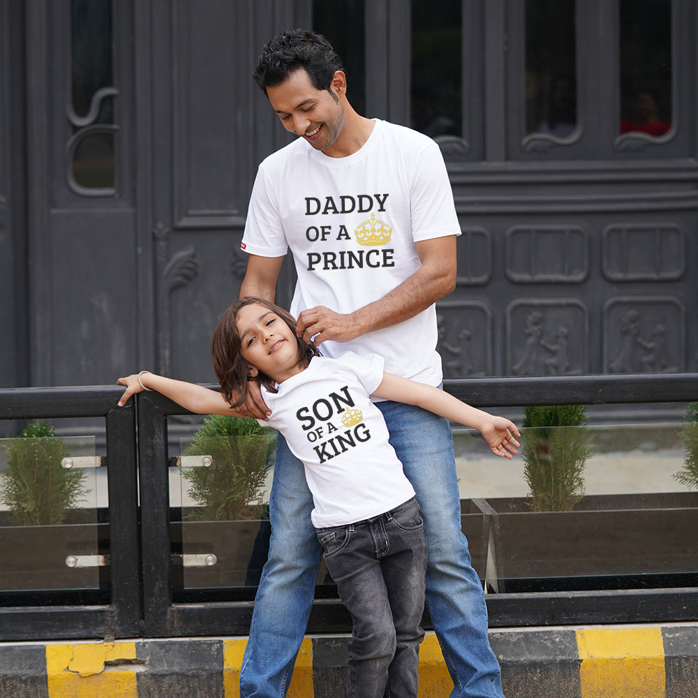Prince King Son Dad TShirt Combo