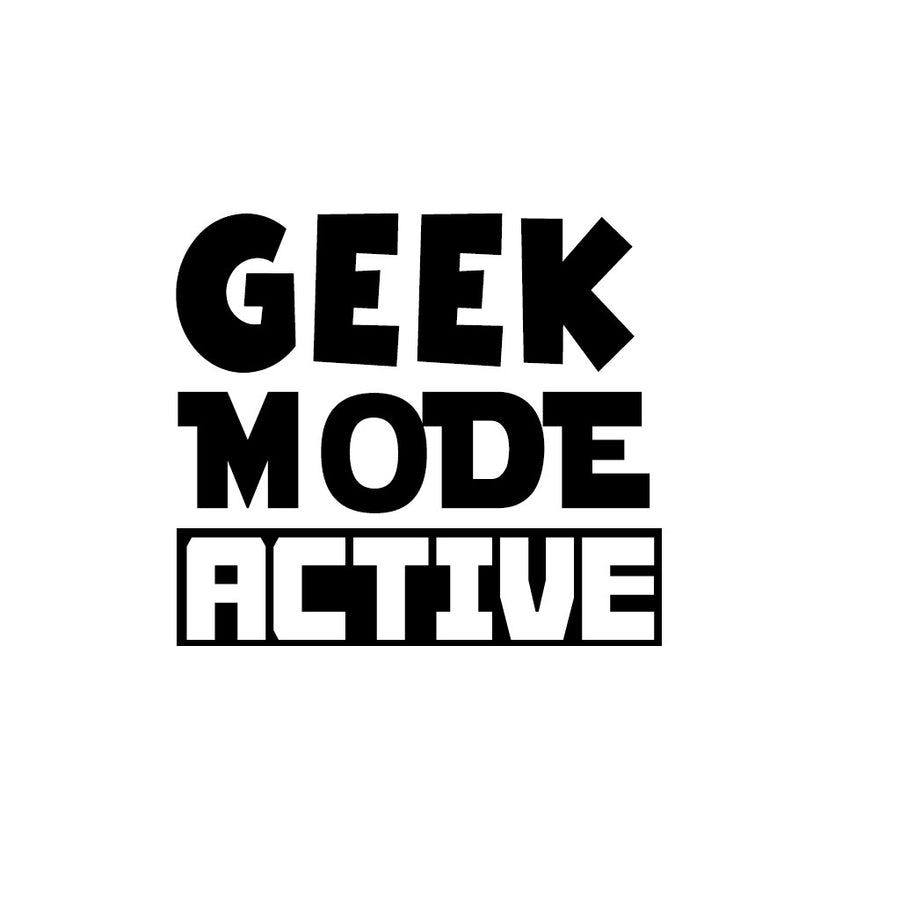 Stubborne Geek Mode Active Men's T-Shirt