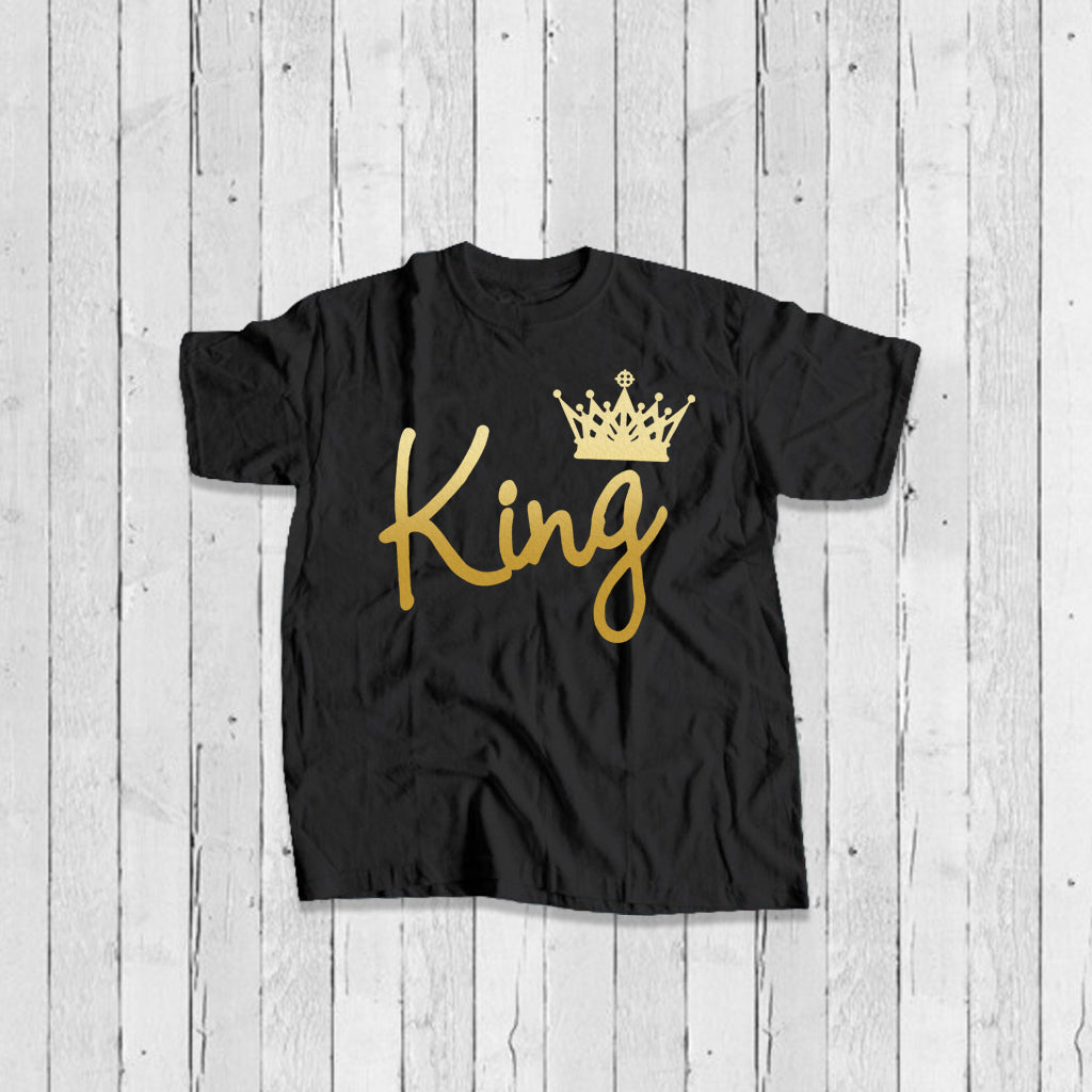 Custom King T-Shirt-Prepaid Only