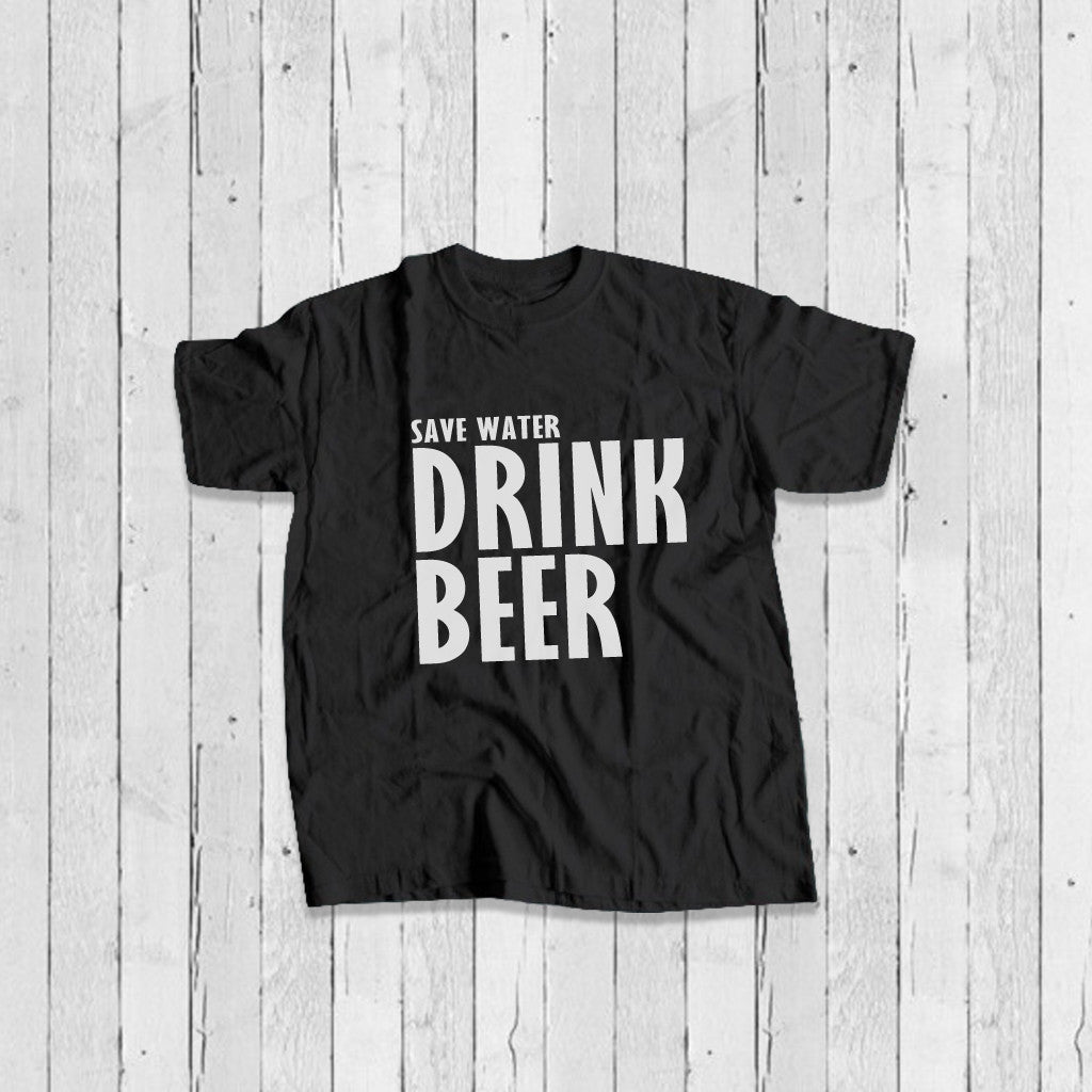 Stubborne Drink Beer Men's T-Shirt In Black