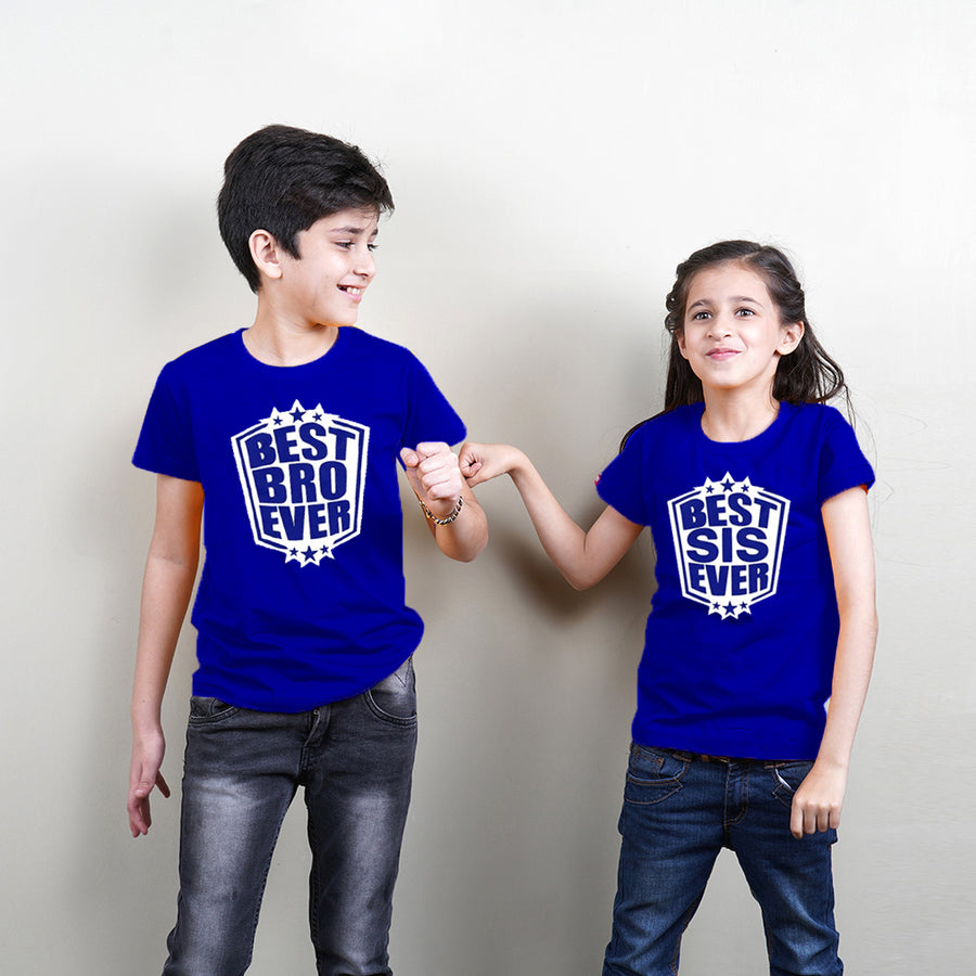 Best Brother Sister Ever Sibling T-Shirts