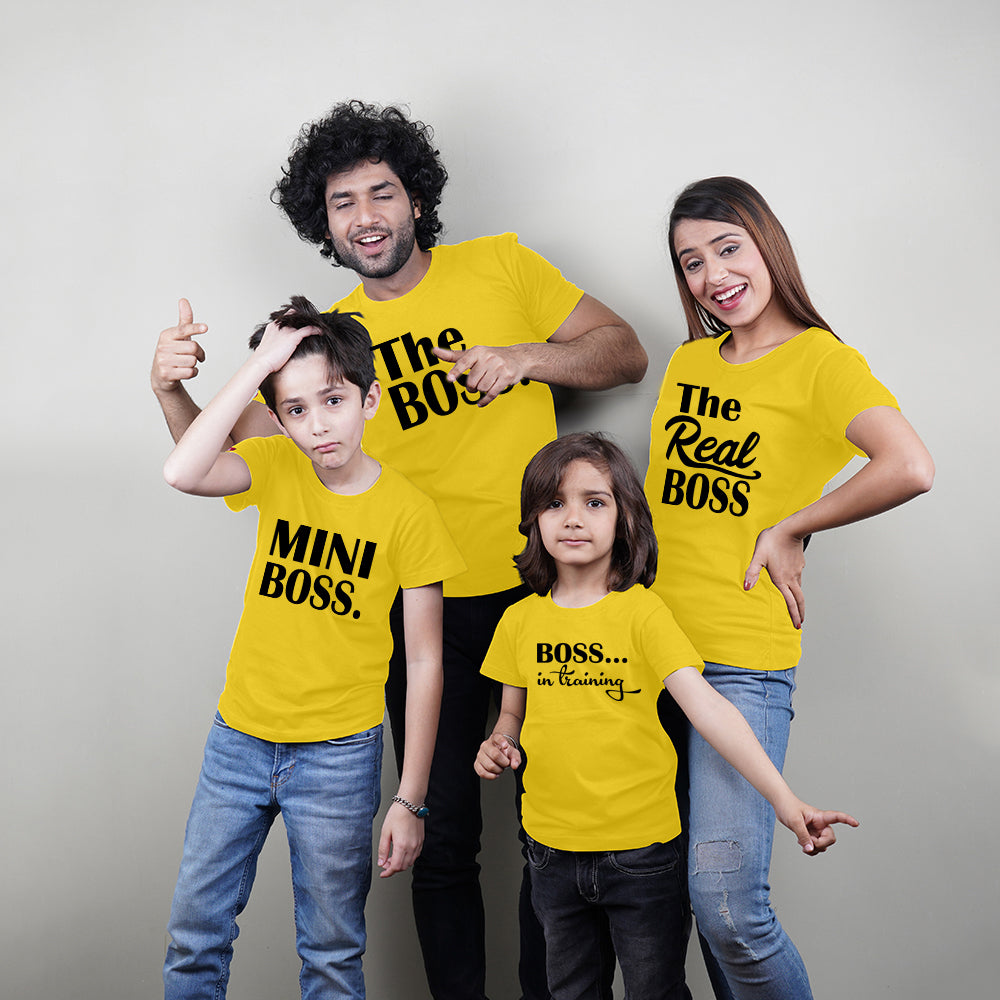 Boss Family T-Shirt Combo