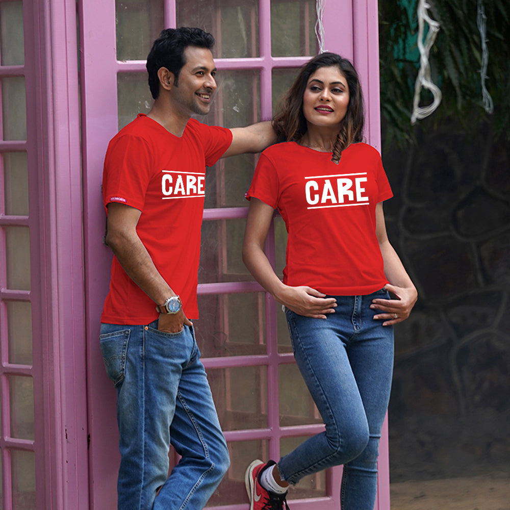 Care Couple T-Shirts