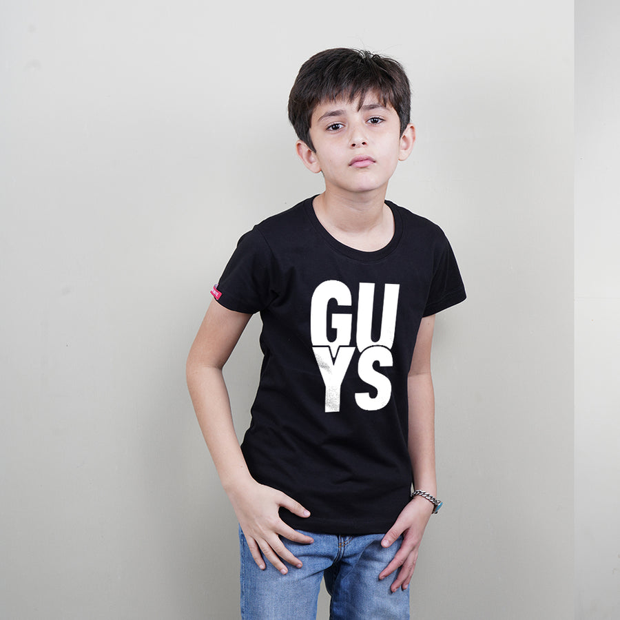 Stubborne Cool Guys Dad Son T-Shirt Combo