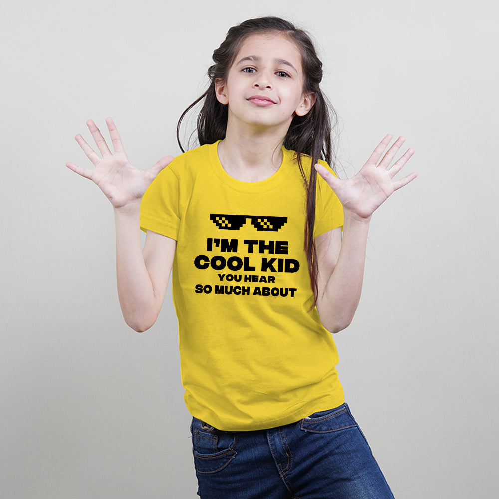 I Am The Cool Kid-Kids T-Shirt-Children's Day Special