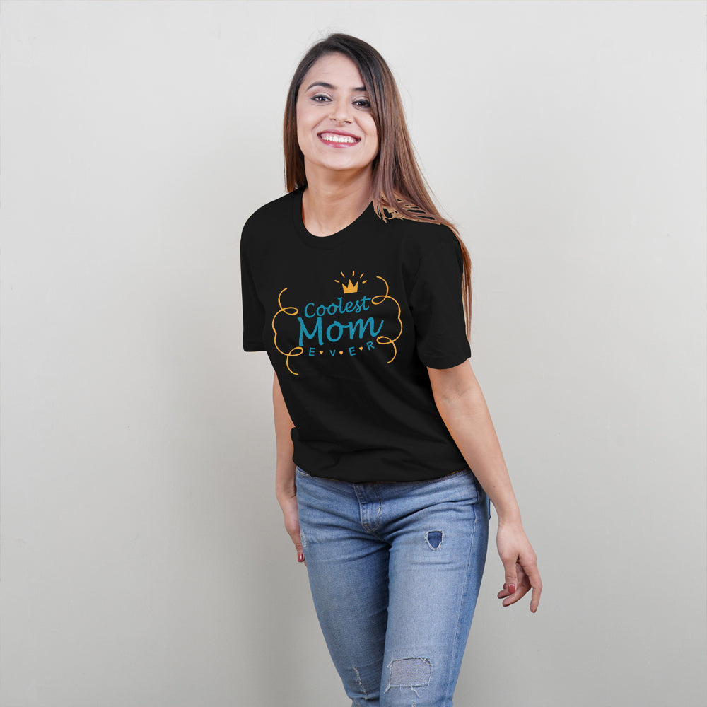 Coolest Mom Coolest Daughter TShirt Combo