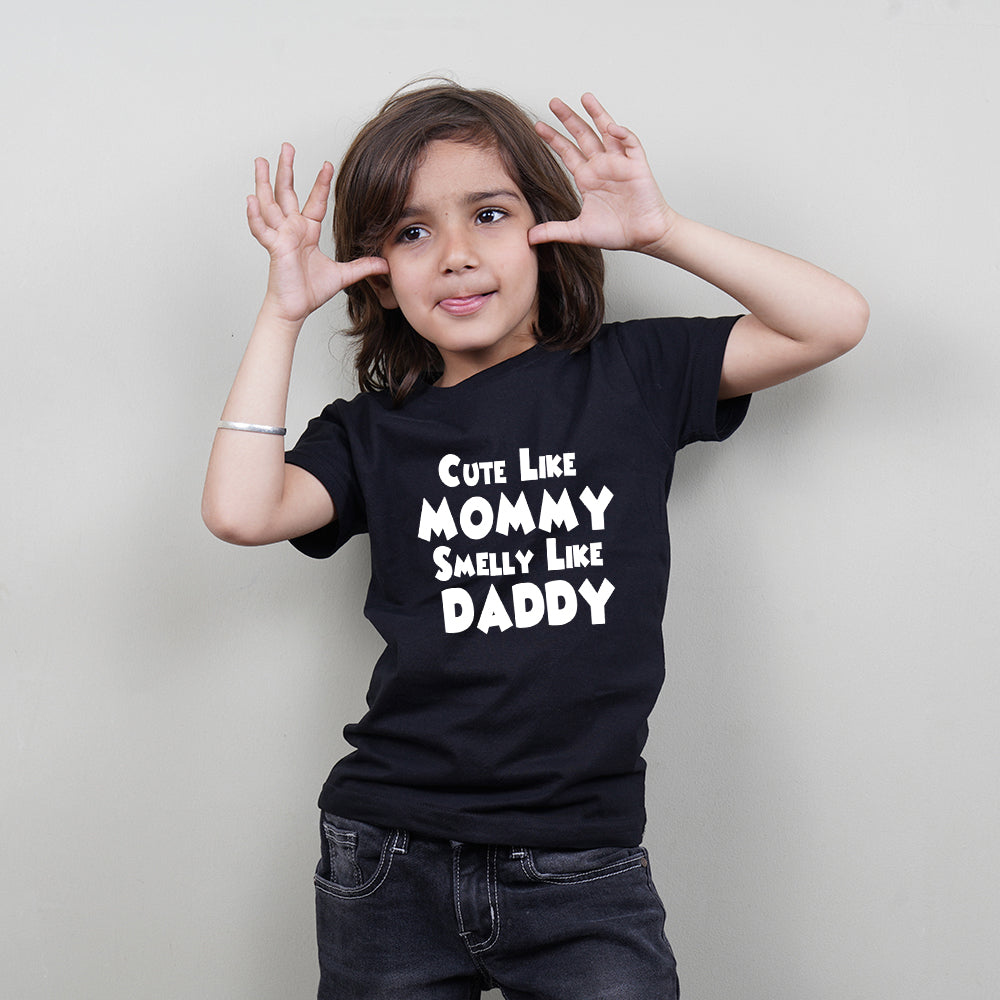 Cool T-shirt for Kids (Cute Like Mommy) Stubborne