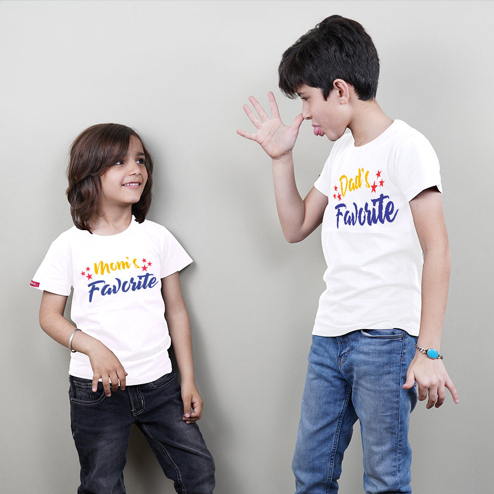 Favorite Kid Sibling T-Shirts Combo