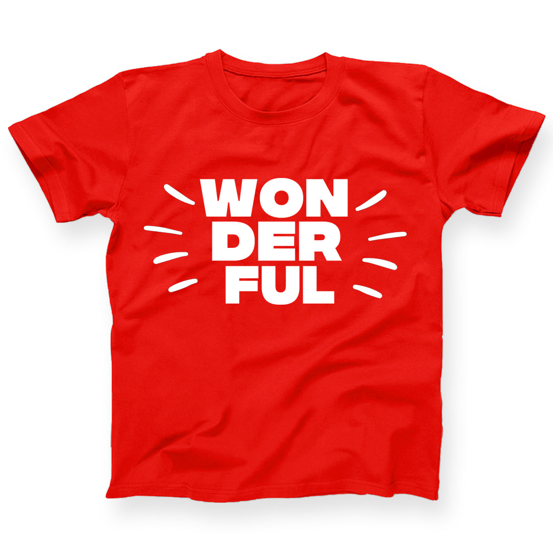 WONDERFUL KIDS TSHIRT-CHILDREN'S DAY TSHIRT