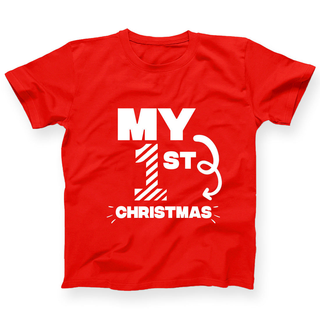 My 1st Christmas Tshirt For Kids