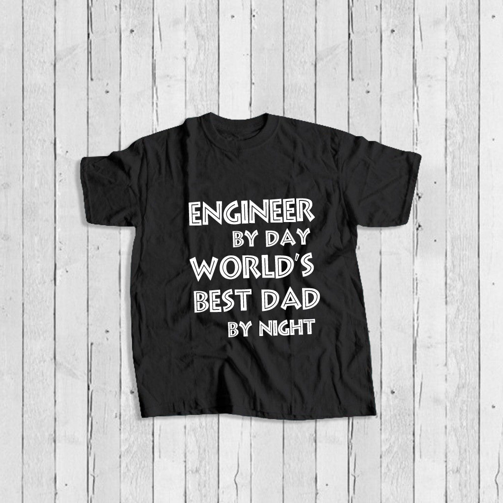 Stubborne Engineer Dad Father's Day T-Shirt