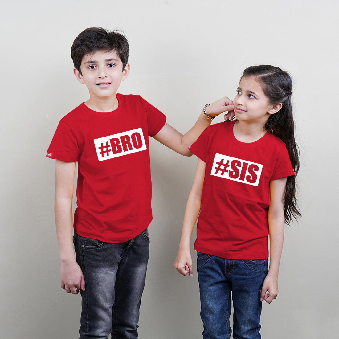 #SIS #BRO Brother Sister Sibling TShirts