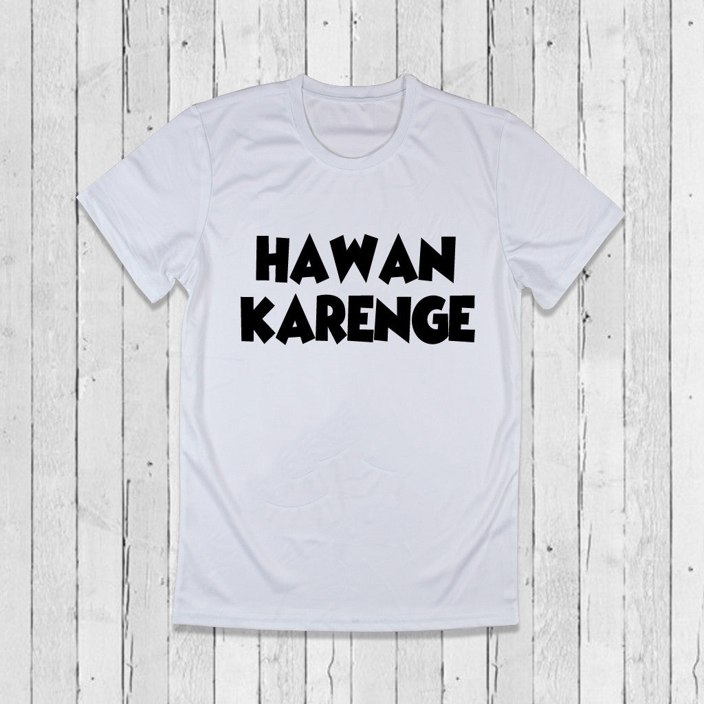 Stubborne Hawan Karenge Men T-Shirt in White