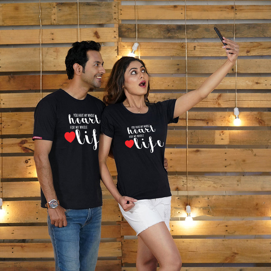 You Have My Heart Couple T-Shirts