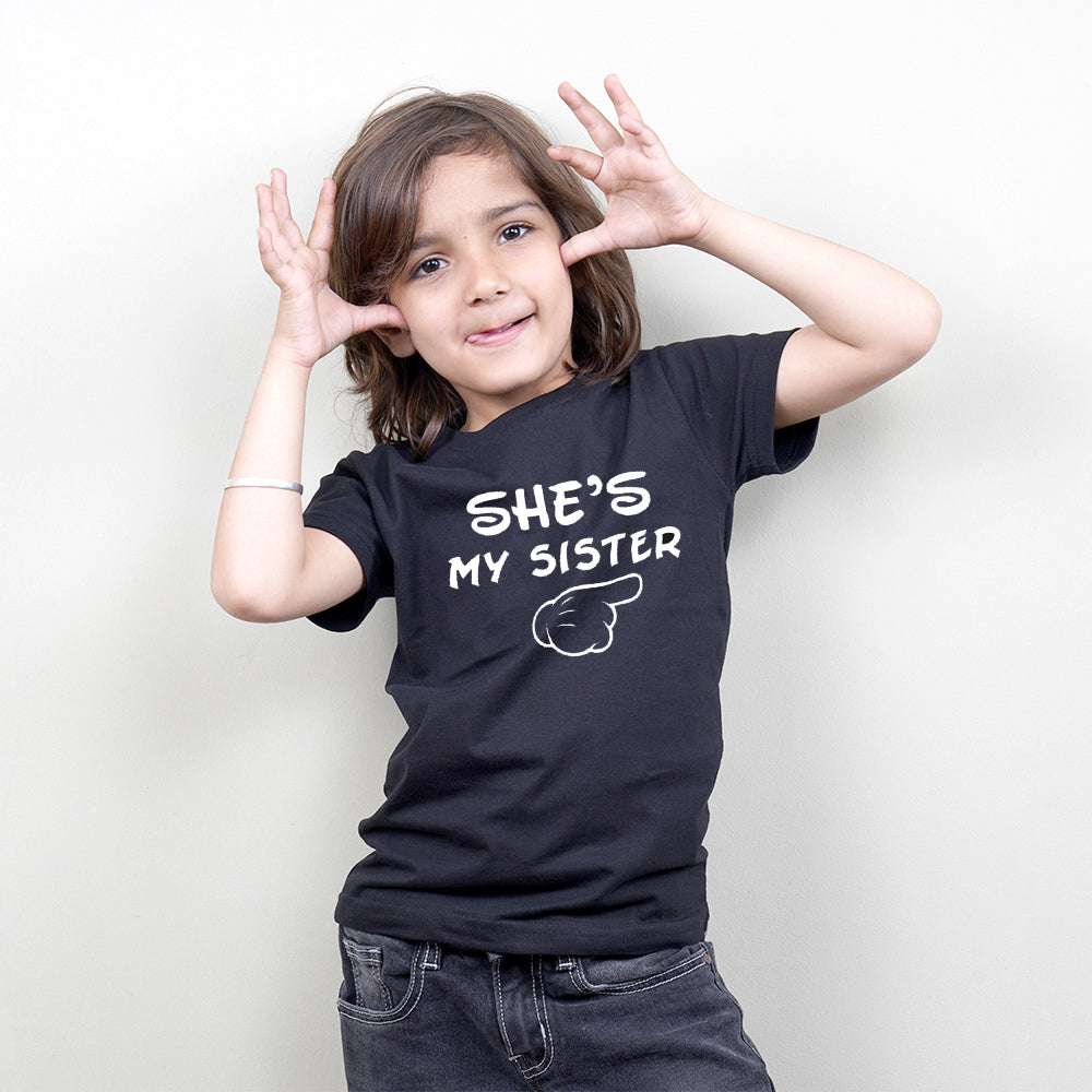 He Is My Brother She Is My Sister Sibling TShirt