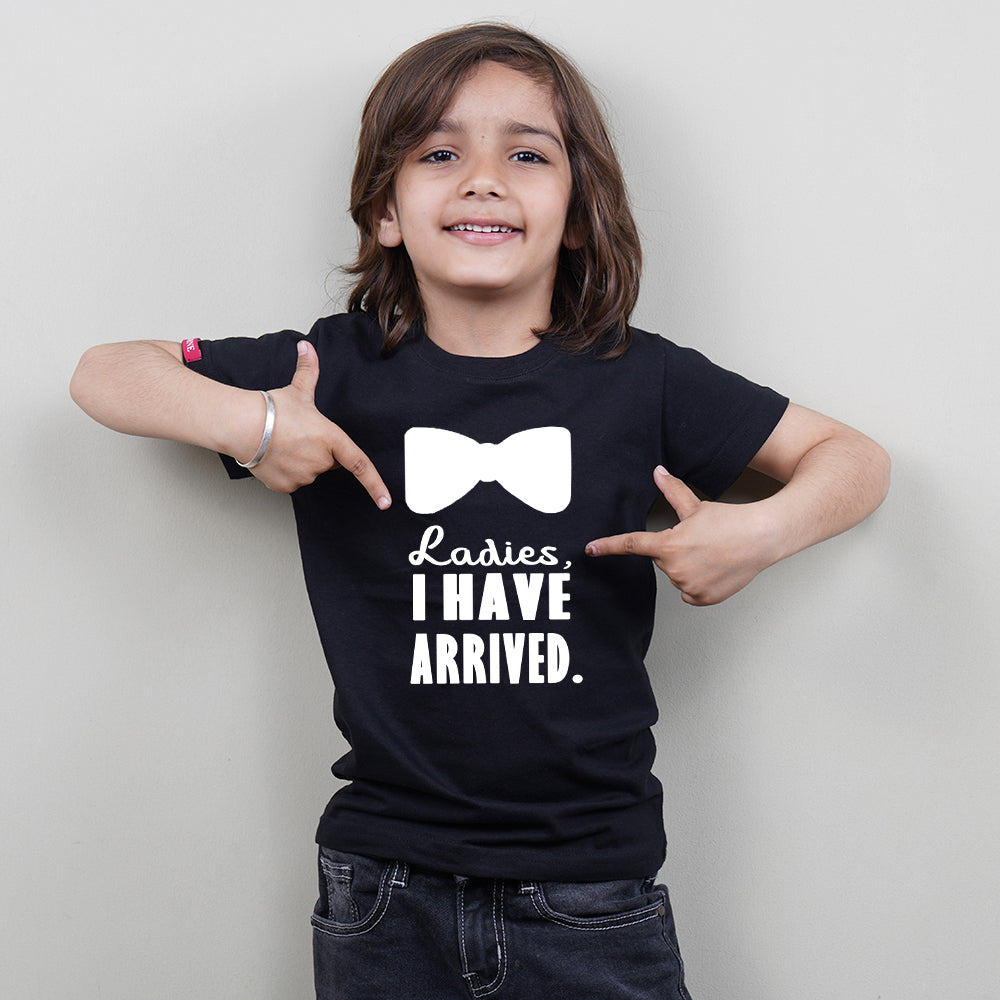 Cool Kids T-Shirt (Boys) (Ladies I Have Arrived) Stubborne