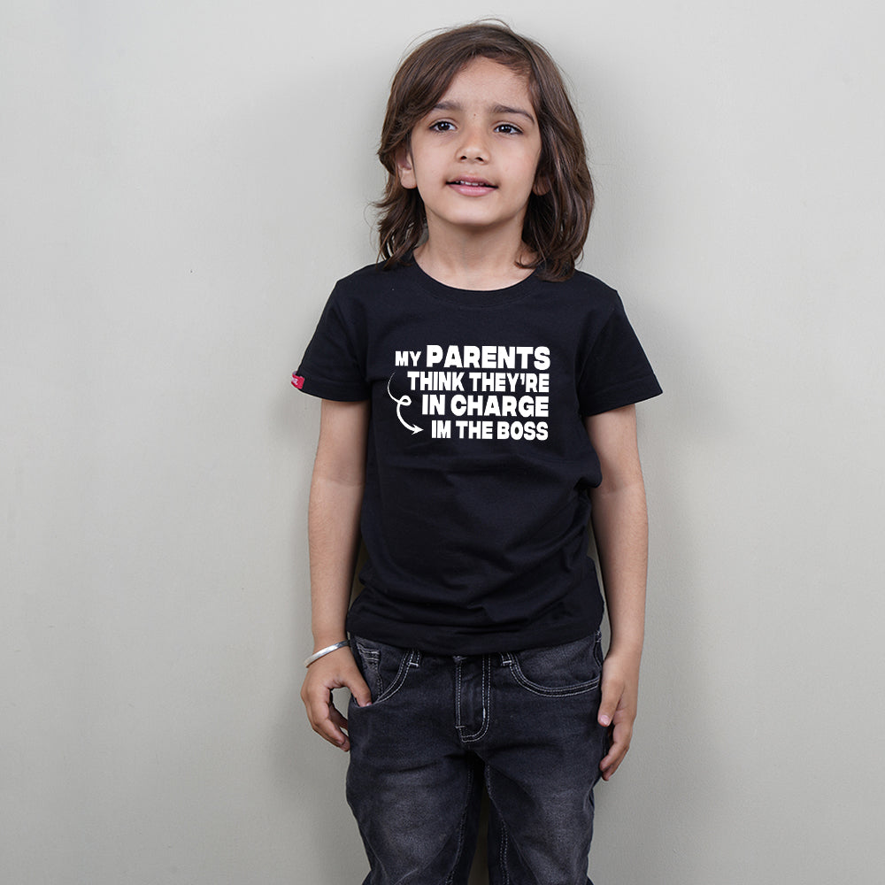 I Am The Boss Kids T-Shirt-Children's Day T-Shirt