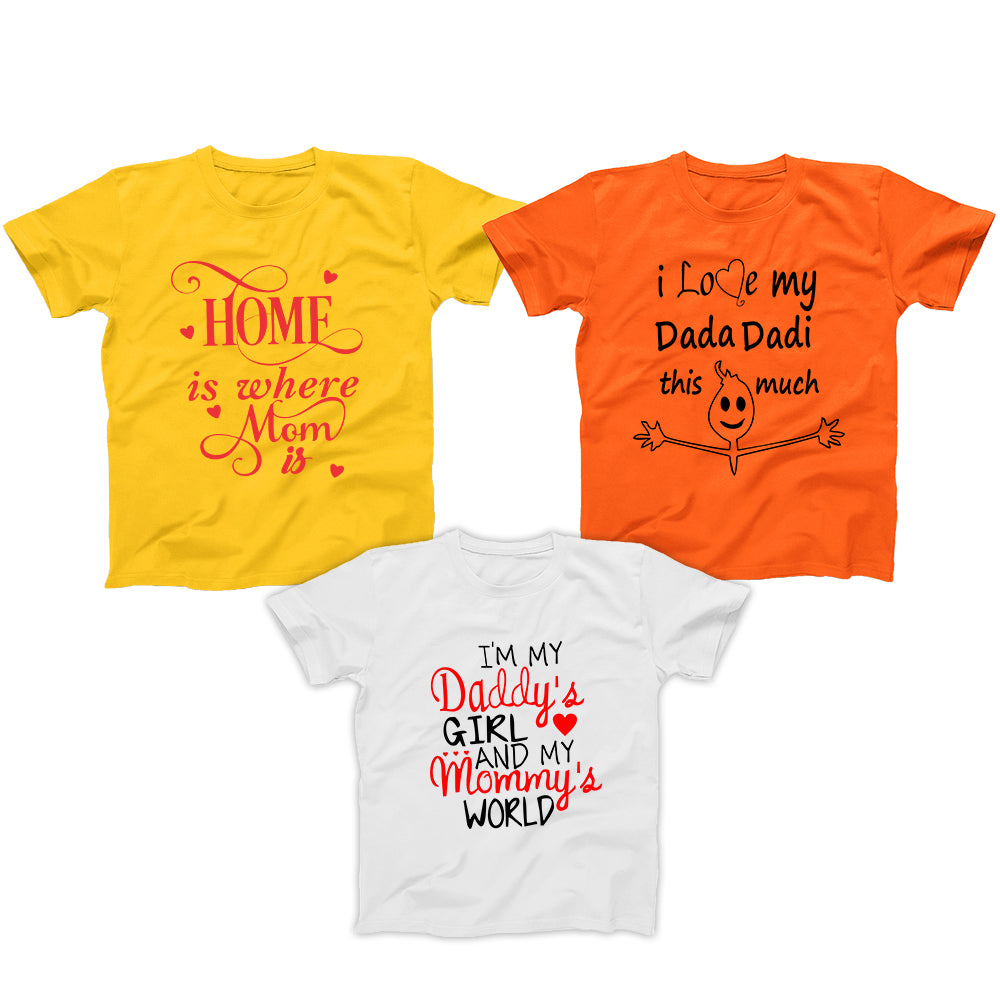 Three T-Shirts Combo for Kids