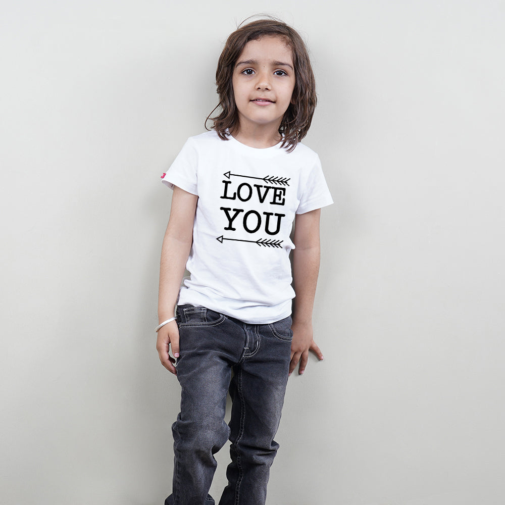 Love You Love You More Mom Son TShirts Combo