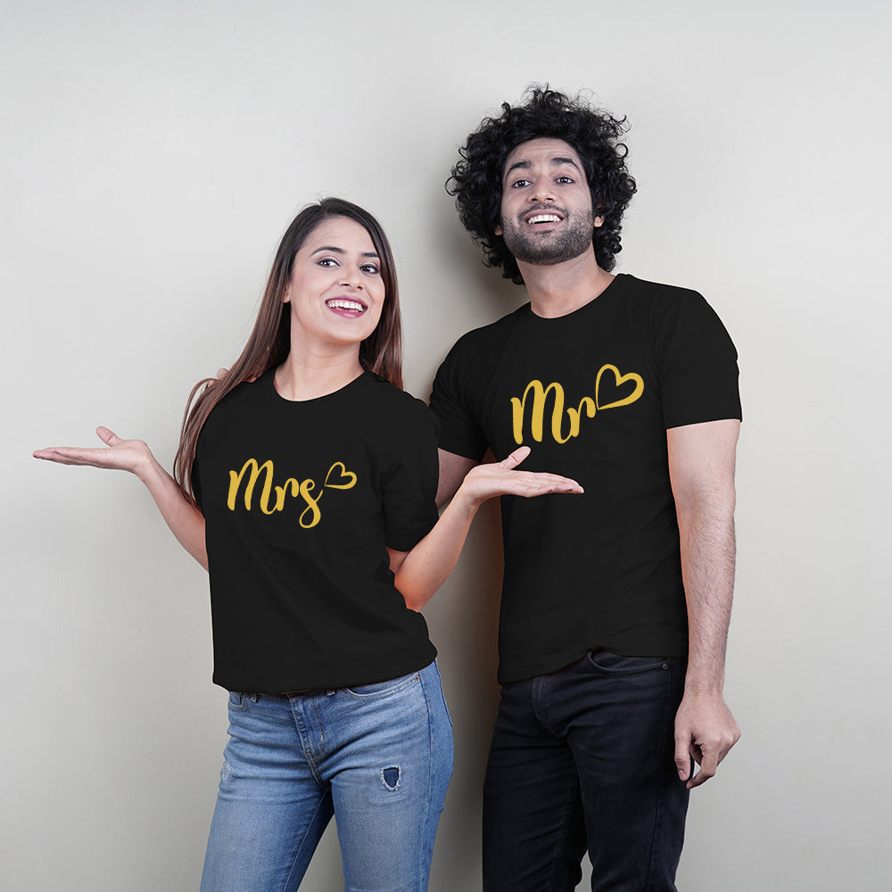Mr and Mrs Couple T-Shirt