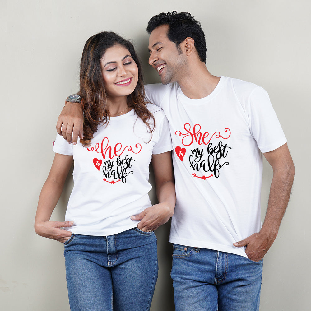 Best Half Couple T-Shirt