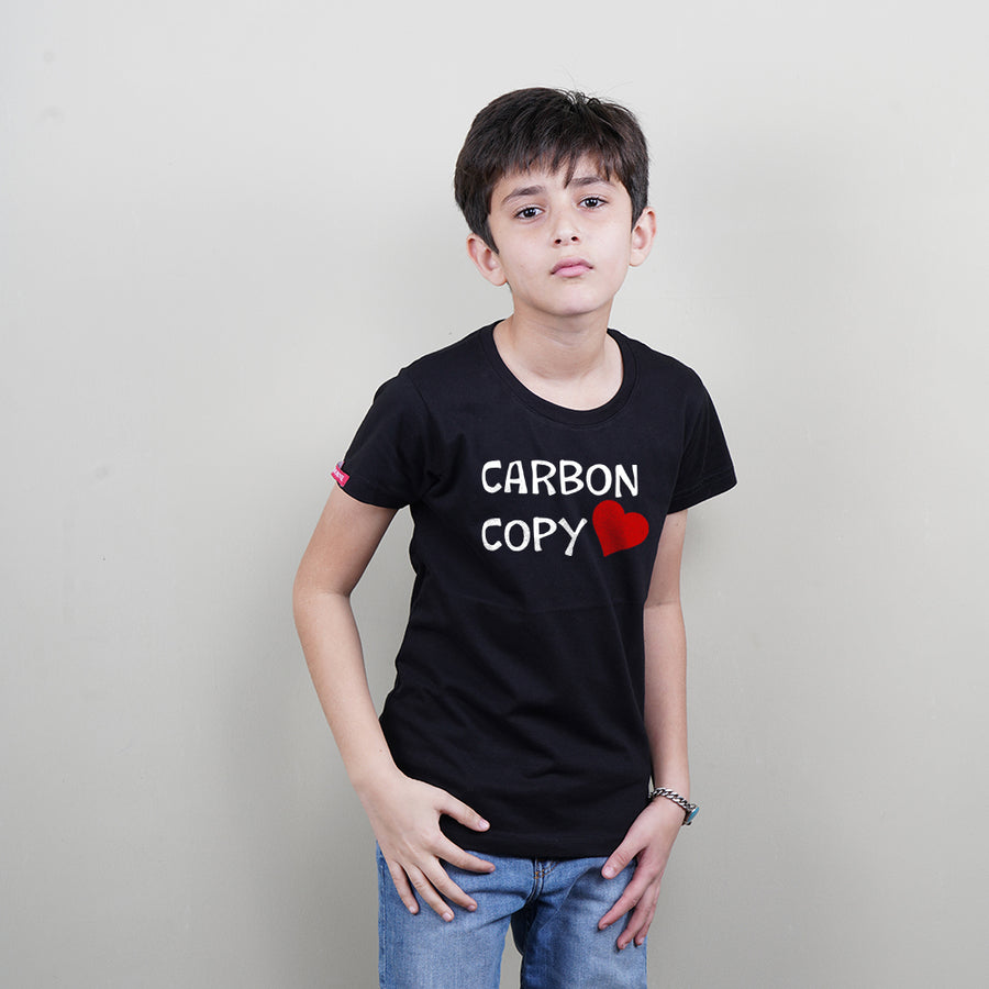Stubborne Original Carbon Copy Dad Son T-Shirts
