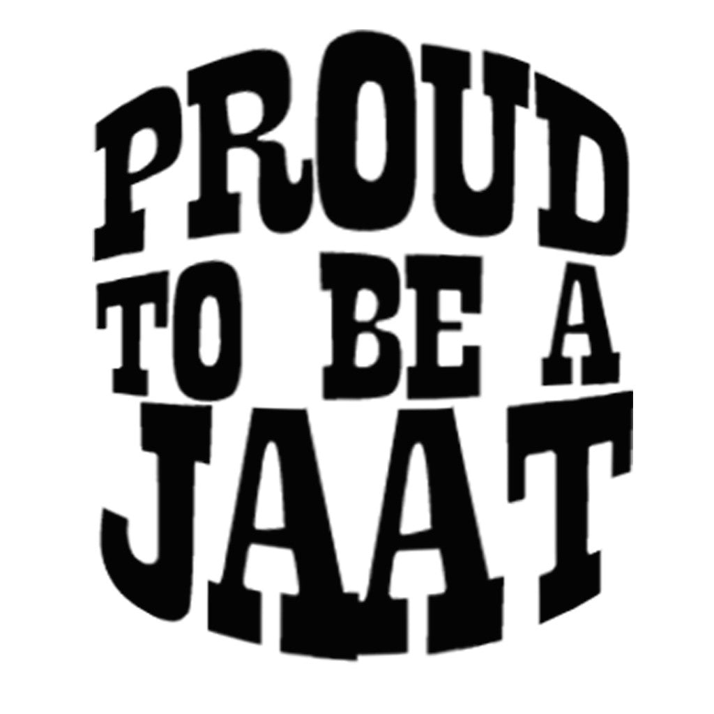 Stubborne Proud To Be A Jaat Men T-Shirt