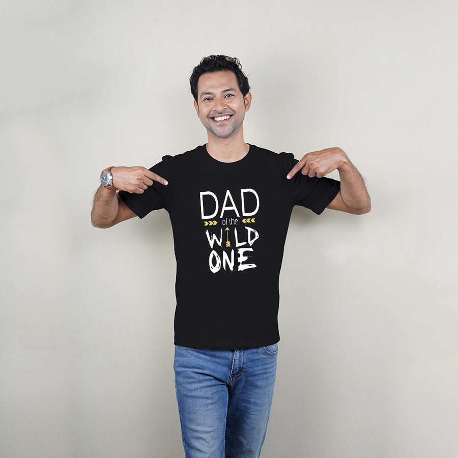Wild One Mom Dad Kid Family TShirt Combo