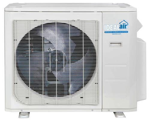 Ideal-Air Pro-Dual 36,000 BTU 22.5 SEER Multi-Zone Heating & Cooling Outdoor Unit