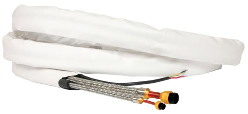 Ideal-Air ReFlex Line Set 3/4 in x 1/2 in x 15 ft Insulated w/ Interconnecting Wire (6/Cs)
