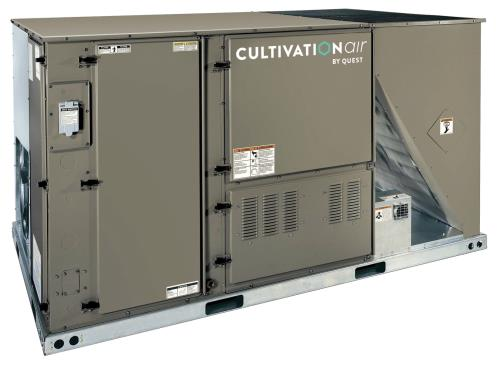 Quest Cultivation Air Custom HVAC System