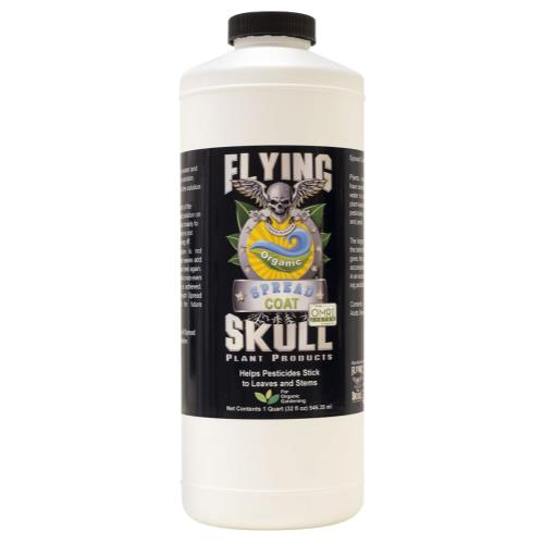 Flying Skull Spread Coat Quart (6/Cs)