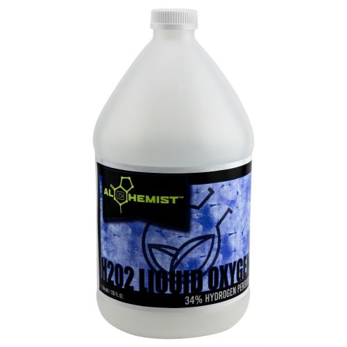 Alchemist H2O2 Liquid Oxygen 34% Gallon (4/Cs) (OR Label)