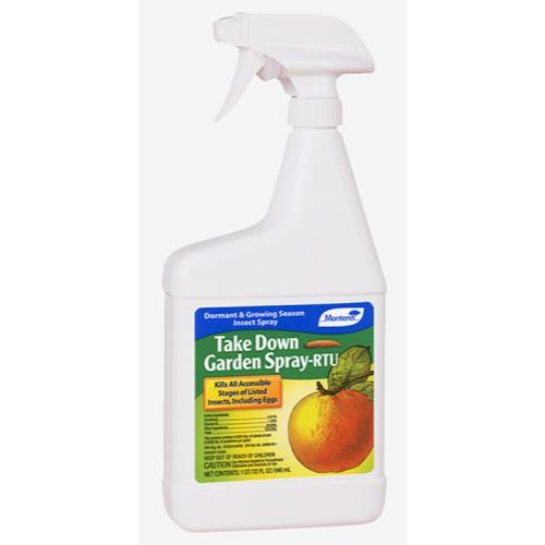 Monterey Take Down Garden Spray RTU Quart (12/Cs)