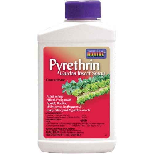 Bonide Pyrethrin Garden Insect Spray Conc. 8 oz (12/Cs)