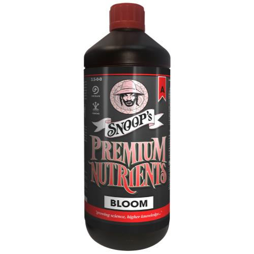 Snoop's Premium Nutrients Bloom A Circulating 1 Liter (Hydro Recirculating) (12/Cs)