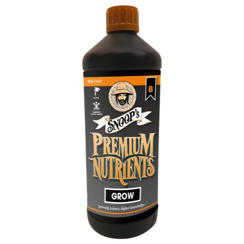 Snoop's Premium Nutrients Grow B Coco 1 Liter (12/Cs)