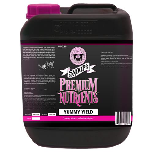 Snoop's Premium Nutrients Yummy Yield 5 Liter (4/Cs)