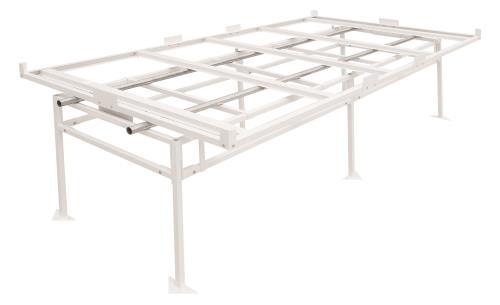 Fast Fit Rolling Bench Tray Stand 4 ft x 8 ft (2 Boxes)