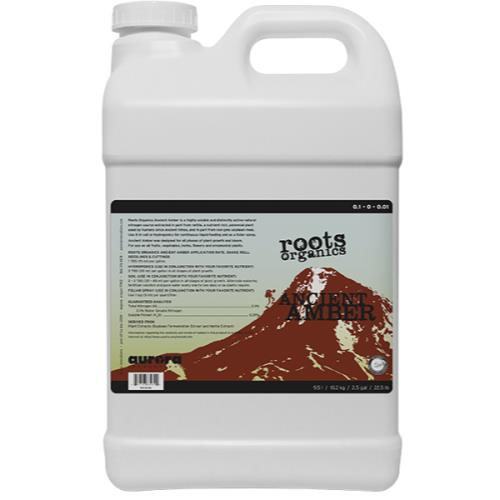 Roots Organics Ancient Amber 2.5 Gallon (2/Cs)