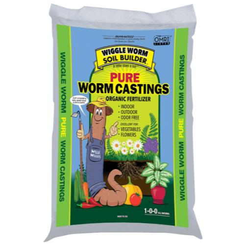 Wiggle Worm Soil Builder Earth Worm Castings 15 lb (150/Plt)