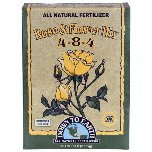 Down To Earth Rose & Flower Mix MINI - 1 lb