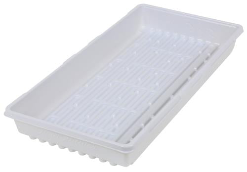 Super Sprouter Triple Thick Tray White 10 x 20 No Hole (50/Cs)