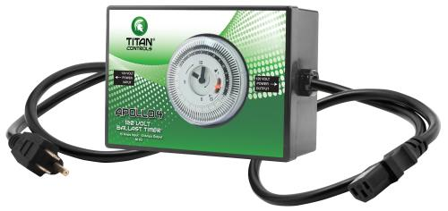 Titan Controls Apollo 4 - 120 Volt Ballast Timer (10/Cs)