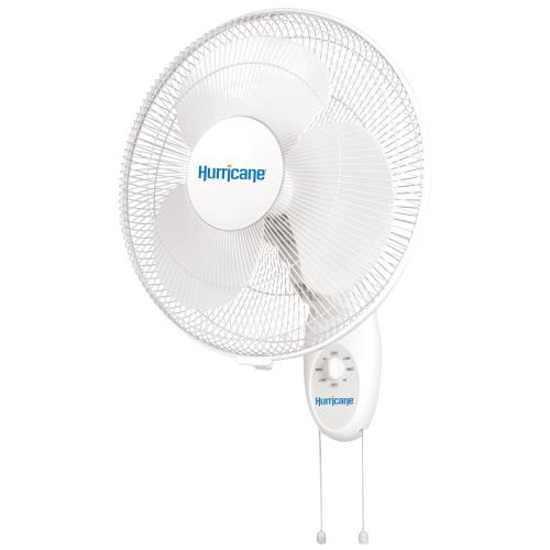 Hurricane Supreme Oscillating Wall Mount Fan 16 in (48/Plt)